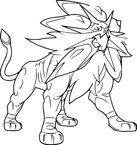 moon rock coloring page pokemon coloring pages rockruff web coloring pages