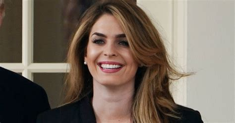 hope hicks voice there s something missing from hope hicks send off photo