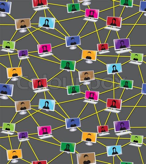 diagram vektor businesssocial mennesker diagram stock vektor colourbox