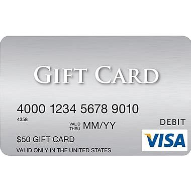 How To Buy A Visa Gift Card Using Paypal - visa 174 50 gift card staples 174