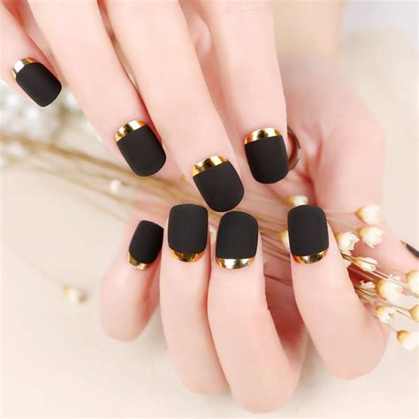 Nägel Rot Lackieren Tipps by 12sets Lot Matte Full Cover False Nail Tips French