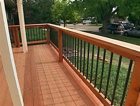 deck railing ideas cool deck railing ideas home design ideas