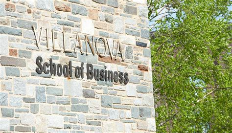 Villanova Mba Reputation by Villanova Ranked Number One In Business Philadelphia