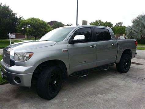 Toyota Power Wheels Find Used Toyota Tundra Crewmax Limited 4x4 Leather All