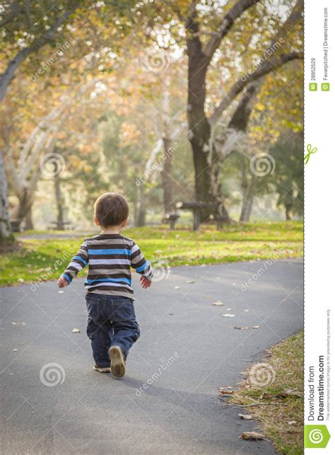 Walking Baby Back Home by Baby Boy Walking In The Park Stock Image Image