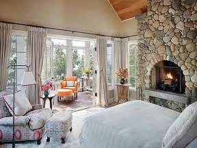 Bedroom Decorating Ideas Cottage Bloombety Cottage Style Bedrooms Ideas With Fireplace