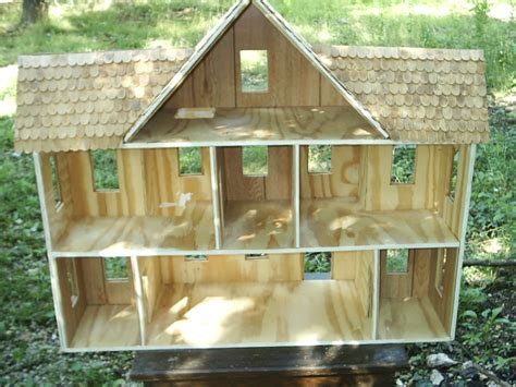 Handmade Dollhouse For Sale - dragonoak s made wood doll house 3 stories 7 rooms