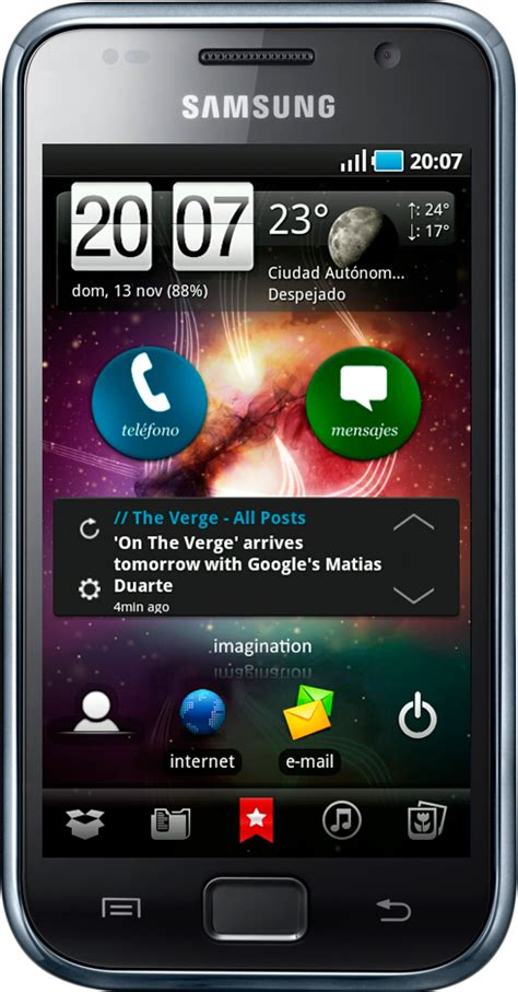 themes for android galaxy star android theme samsung galaxy i9000 by dmcmail