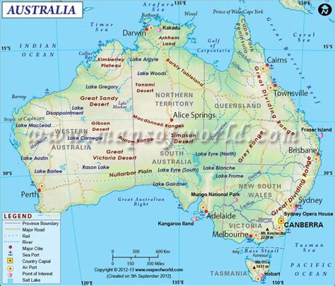 show me the map of australia show me the map of australia major cities america