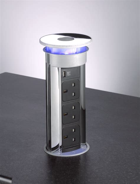 Pop Up Sockets For Kitchen Worktops by Home Office Essentials From Bpf
