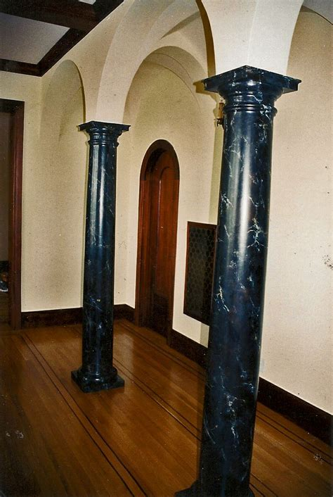 faux painted columns 14 best painted columns images on faux