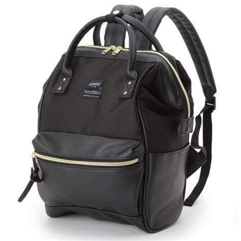 anello tas ransel kulit canvas size s black