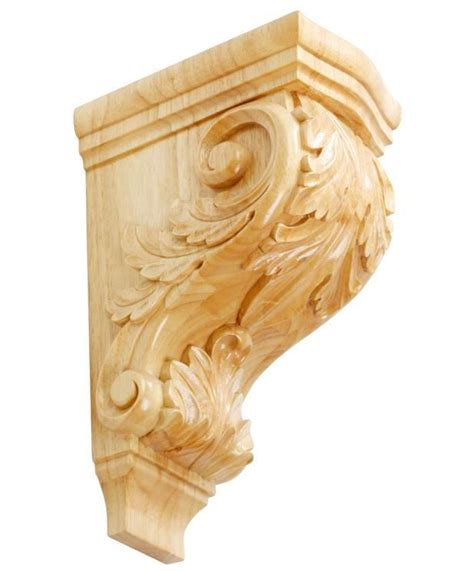 Buy Wood Corbels Wholesale Exquisite Wood Acanthus Leaves Corbels Buy