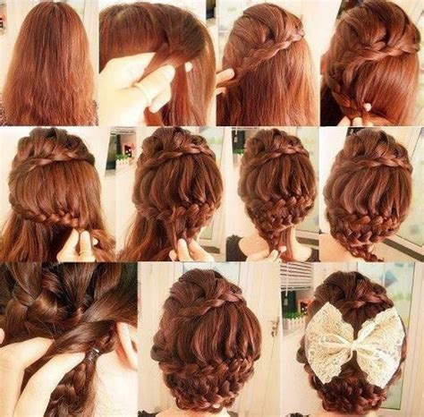 cool braided hairstyles step by step step by step hairdo ideas for girls nationtrendz com
