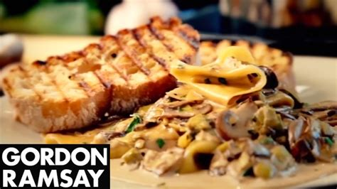 gordon ramsay dinner recipes leek and tarragon pasta gordon ramsay my