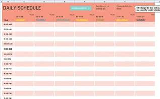 excel template for daily tasks family member daily task schedule template formal word