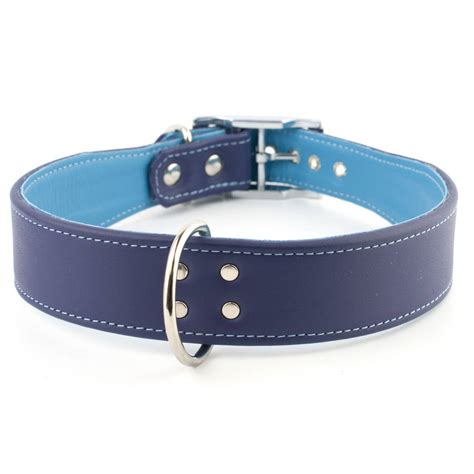 wide collars trouble wide leather collar by petiquette collars notonthehighstreet