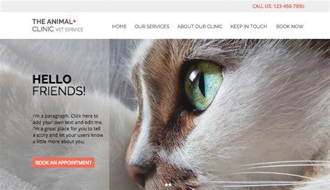 Pets Animals Website Templates Business Wix Animal Website Templates