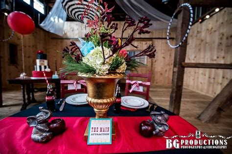 83 Best Images About Events Masquerade Theme On Vintage Circus Centerpieces