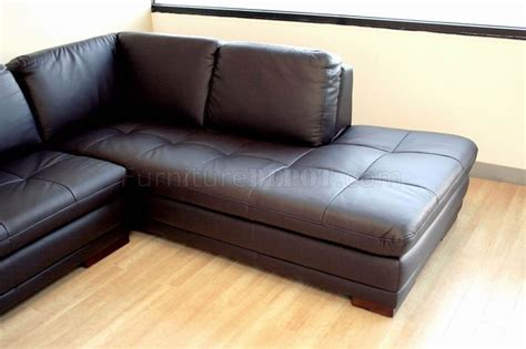 modern couch with chaise brown tufted leather right facing chaise modern sectional sofa