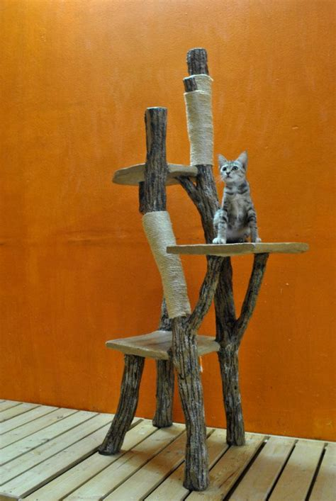 Handmade Cat Trees - climb a tree for cats 10 pet lover handmade cat