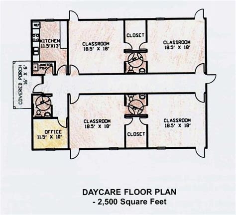 floor plan for preschool 10 best dcplans images on pinterest daycare ideas