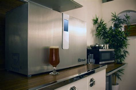 self contained brewie can brew with a swipe of a rfid