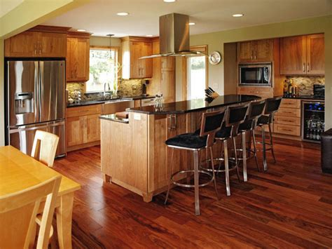 red birch kitchen cabinets natural red birch contemporary kitchen burlington