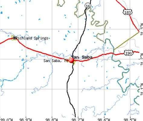san saba texas map related keywords suggestions for san saba