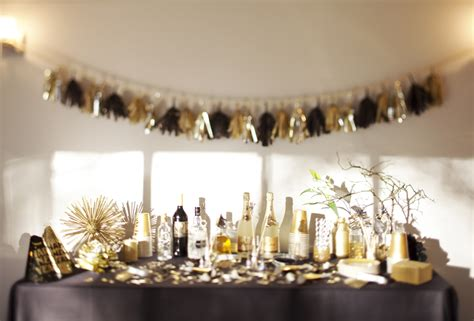 new year decoration ideas for home a new year s gold the sweetest occasion