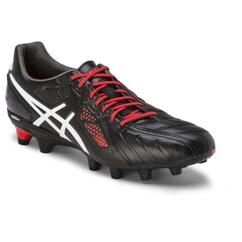 Asics Football Gear asics lethal stats 3 it mens football boots black white sportitude