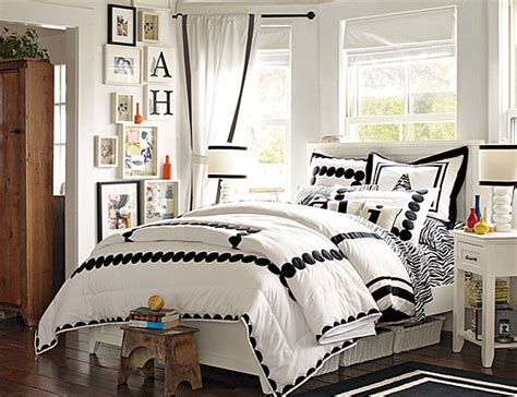 black and white teenage bedroom black and white teen girls bedroom decoist
