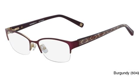 buy marchon m yorkville semi rimless half frame