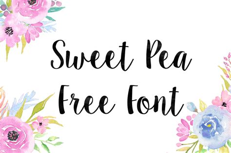 dafont sweet pea dlolleys help sweet pea free font