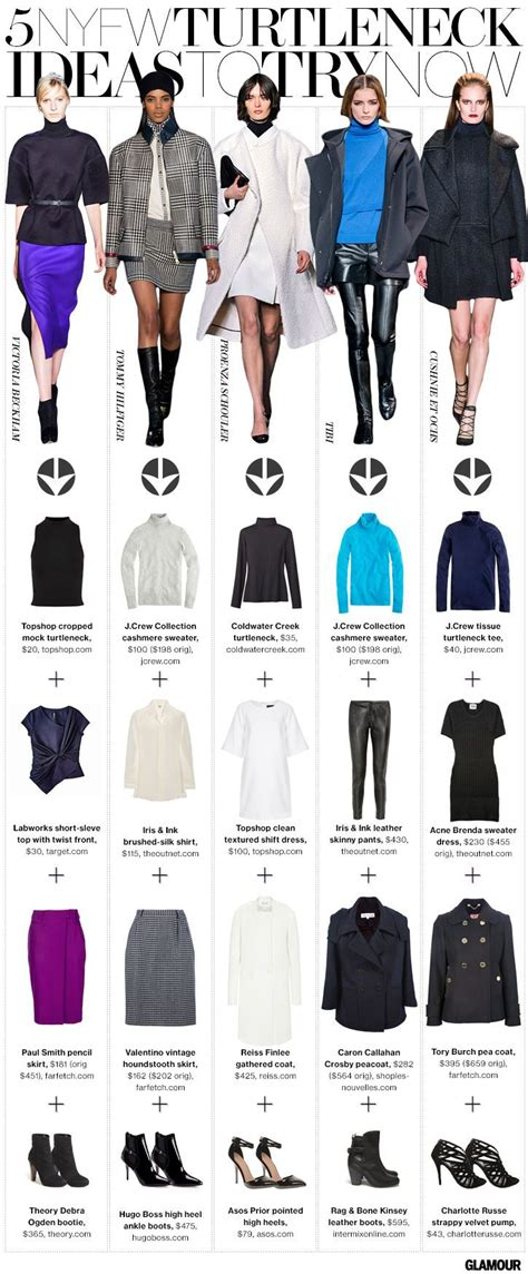 7 Stores To Buy School Clothes From This Year by 5 Ways To Wear A Plain Ol Turtleneck Courtesy Of The