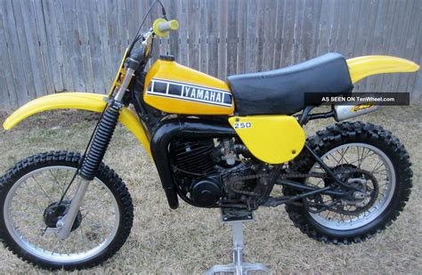 vintage yamaha motocross bikes vintage yamaha dirt bike