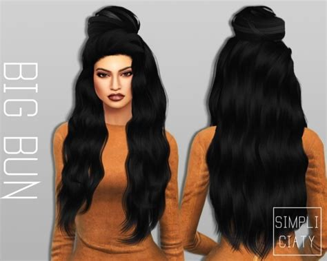 cc hair for sism4 31 best sims 4 cc hair images on pinterest sims hair