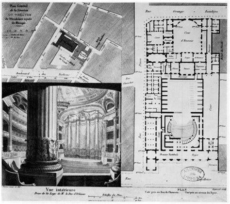 Alexis Floor Plan by File Paris Opera 1822 Jpg Wikimedia Commons