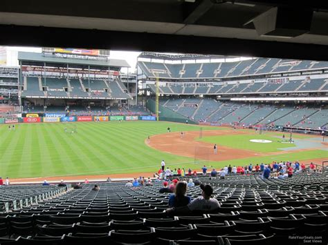 Rangers Sections by Globe Park Section 115 Rateyourseats