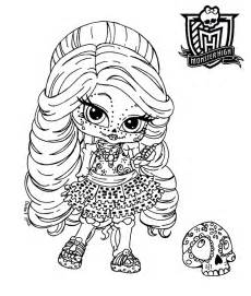Baby Monster High Coloring Pages Monster High Coloring Baby High Coloring Pages