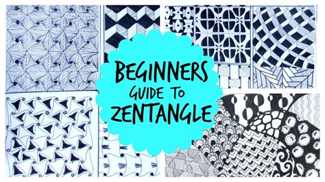 doodle how to start beginners guide to start zentangles