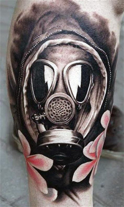 100 gas mask tattoos for 100 gas mask designs for breath of fresh ideas