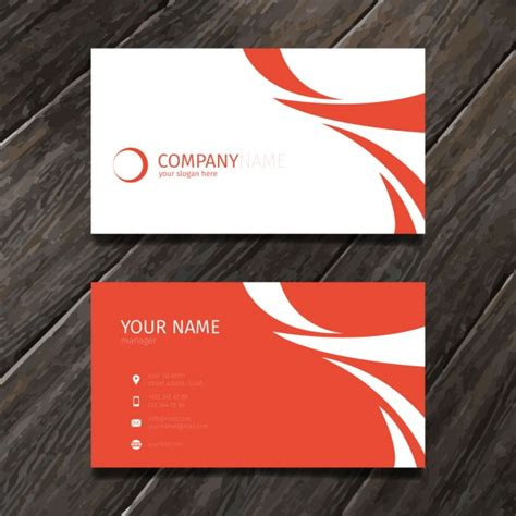 card template freepik minimal abstract business card tempate vector free