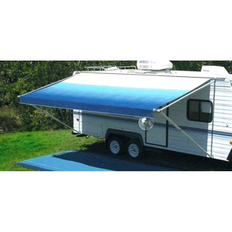 trailer awnings replacement replace rv awning replacement fabrics free shipping inc