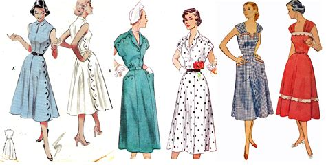 1950s fashion 1950s and on