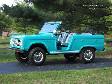 Restored 1966 Ford Bronco Roadster