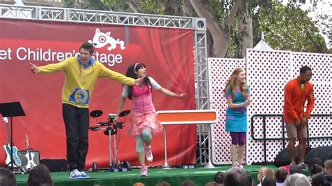 the fresh beat band stomp the house the fresh beat band hd live 4 24 10 we had a great day 3