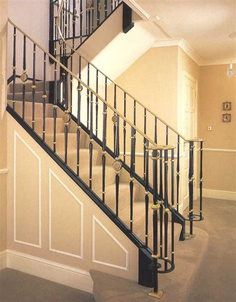 banister and baluster indoor stair railing designs quotes