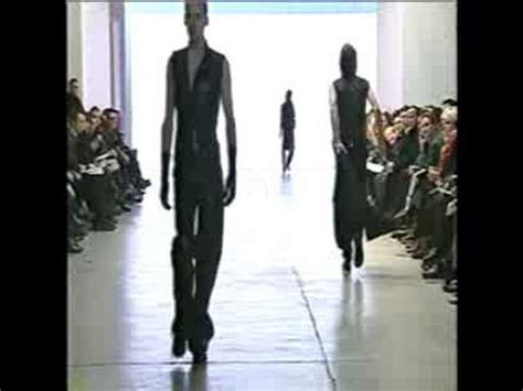 Slimane Why I Split From Homme by Yves Laurent Homme Fall Winter 2000 2001 Part 1