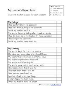 High School Progress Report Sle